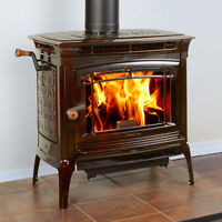 Hearthstone Manchester cast iron and soapstone Wood Stove
