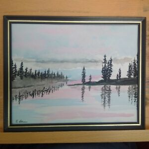watercolour painting by BC artist