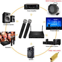 RENTAL: Wireless Mic System - Portable 2-Channel Microphone Kit