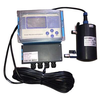 110v Flow-through Online Turbidity Meter Tester Detector Lab Equipment
