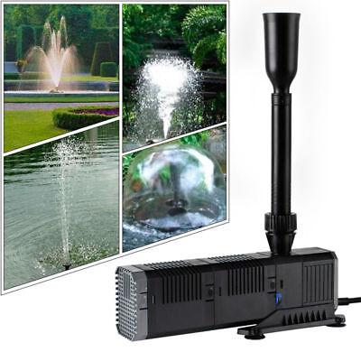 1500L/h Springbrunnenpumpe Teichpumpe Wasserspielpumpe Gartenpumpe Zierbrunnen
