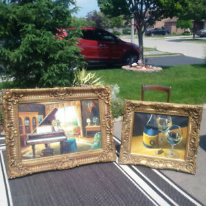 4 NOW 3 ORNATE OIL PICTURES * Please See EACH PRICE  **