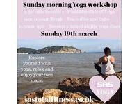 Sunday Morning Yoga Workshop