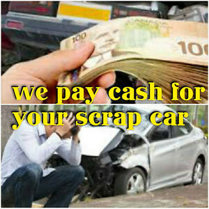 100 to 10,000$$$ CASH FOR SCRAP CARS $$$$ CALL TODAY 647 772 037