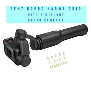 GoPro Karma Grip Stabilizer for Rent - Go Pro