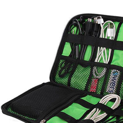 Popular Electronic Accessories Cable USB Organizer Bag Case Travel Insert  QY