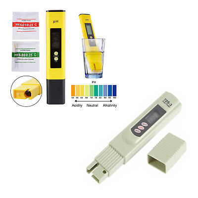 Digital Ph Lcd Tester Metertds Labph Test Paper Aquarium Pool Hydroponic Bbc