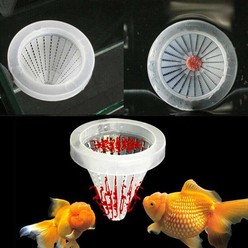 5Pc Aquarium Red Worm Cone Feeding Live Frozen Brine Shrimp Fish Feeding FuGF