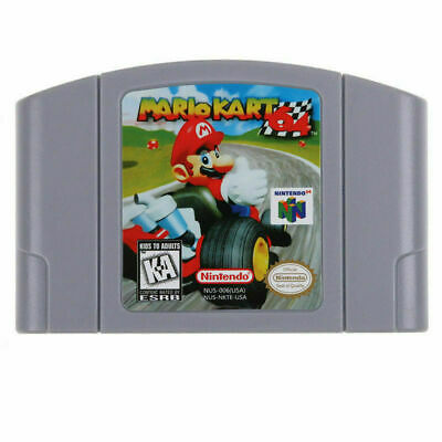 Mario Kart 64 Video Game Cartridge Console Card US Version For Nintendo N64 GIFT