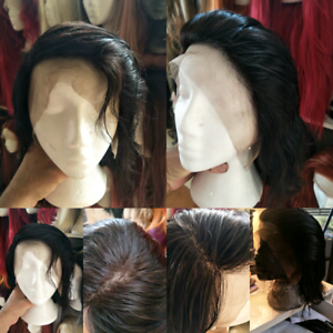 BRAND NEW HUMAN REMY BRAZILIAN LACE FRONT WIG VERY NATURAL LOOK New Farm Brisbane North East Preview