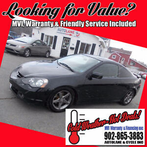 2003 Acura RSX Type S Coupe NEW MVI Runs Great FUN CAR