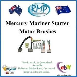 New Set Of Mercury Mariner USA Outboard Starter Motor Brushes