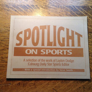 Spotlight on Sports Introduction by Layton Dodge[signed]