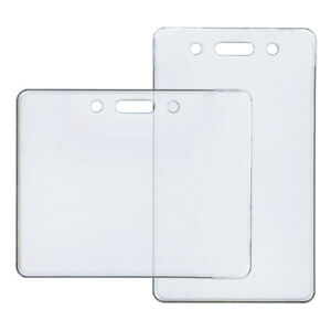 Best Price Overstock clear plastic ID badge holder for sale!