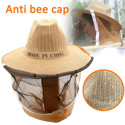 Beekeeper Protective Hat Anti Bee Fabric Nylon Net Yarn Hat Beekeeping Proteces