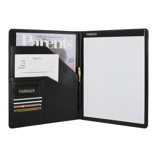 Armiger Executive Bonded Leather Professional Pad folio with