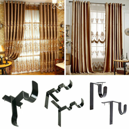 double hang curtain rod holders tap right