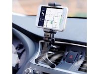 In Car Air Vent Mount Cradle Holder Stand For Mobiles Smart Cell Phone GPS Black