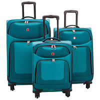 SwissGear Zernez 3-Pc SoftSide 4-Wheel Luggage-NEW IN BOX  $395