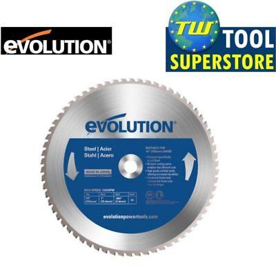 Evolution 355mm TCT Steel Cutting Blade 66T 14