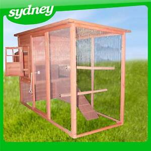 Large 2.3m Rabbit Hutch & Chicken Coop 8051 NSW Matraville Eastern Suburbs Preview