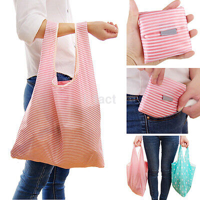 Popular Foldable Reusable Eco Bag Storage Shopping Tote Grocery Bags For WomenUS