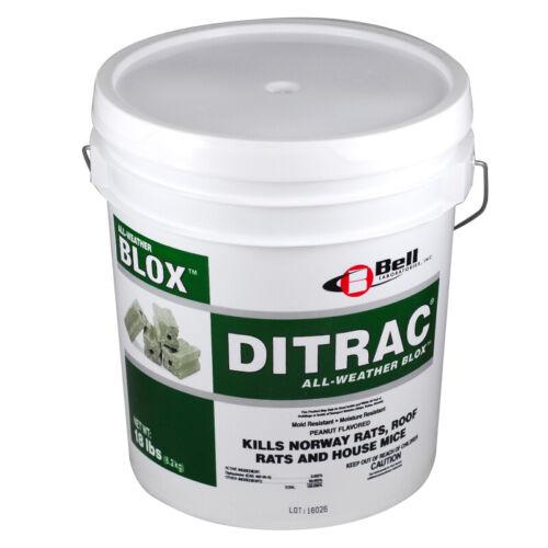 Ditrac All Weather Blox 18 Lbs Rat Bait Blocks Mouse Bait Blocks Rodent Bait