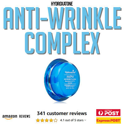 Hydroxatone AM PM Anti Wrinkle Complex Face Cream with SPF 15 895891001690