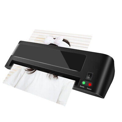 Professional Thermal Hot Laminator Machine For Home Office A4 Documents Paper