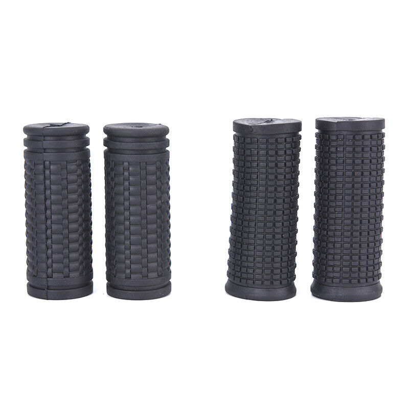 Bicycle Grips Short Handle Rubber Non Slip Cycling Scooter MTB Bike Parts 2pcs