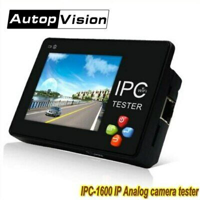 3.5 Touch Screen Portable Ip Analog Camera Tester H.265 4k Cctv Tester Monitor