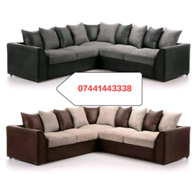 Dylan Large Corner Sofa Different Colors