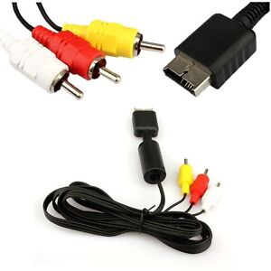 cable rca playstation 1-2-3 *neuf *