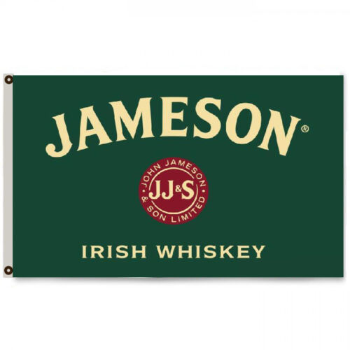 Jameson Irish Whiskey Flag Banner 3X5Feet