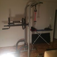 Power Tower Gold Gym
