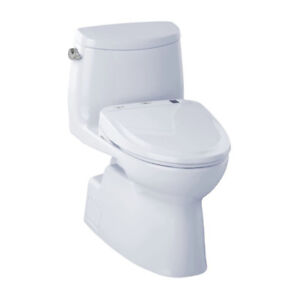 TOTO MW614584CEFG Carlyle II WASHLET S350e One Piece Toilet Cott