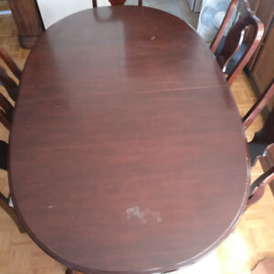 French Provincial style dining table (no chairs) - MAKE AN OFFER