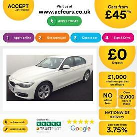 BMW 320 2.0TD ( 184bhp ) ( s/s ) 2013MY d Sport FROM £45 PER WEEK