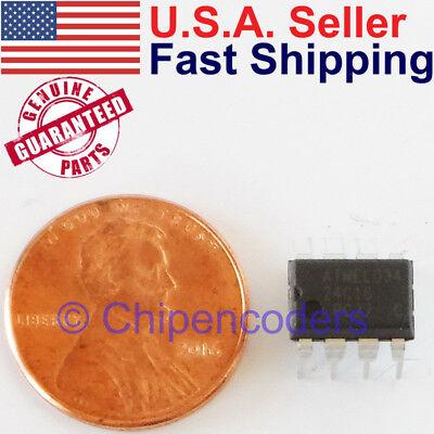 At24c16 16k Bit 2-wire Serial Eeprom 2.7-5.5v Atmel Ic Dip