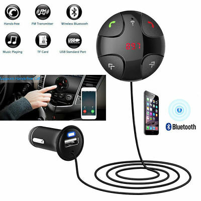 Bluetooth MMC MP3 Player USB Car Charger FM Radio Transmitter for iPhone 7 8 X+