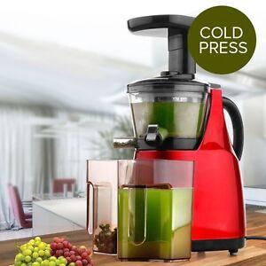 Slow Fruit Vegetable Juicer Extractor Processor : Brand New Cold Press Slow Juicer Fruit vegetable Processor ...