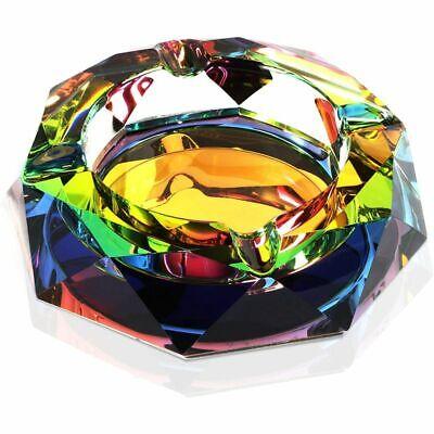 Rainbow Crystal Ashtray (5 Inches)