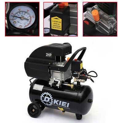 Portable 25L Litre Air Compressor 115PSI 2800RPM 2.0HP Engine Powerful Machine