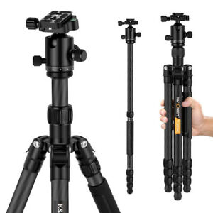 Professional Camera Tripod, 62.40-Inch with 360 Degree Ball Head