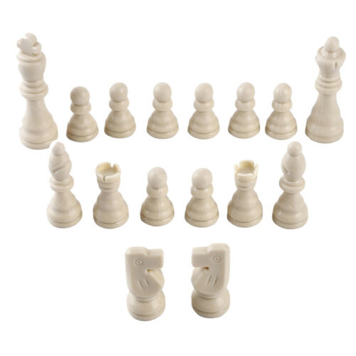 Plastic Chess Pieces Carved Set International Chess Game Pro