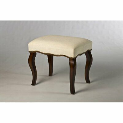 Bowery Hill Vanity Stool in Burnished Oak