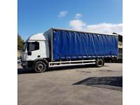 Iveco Eurocargo 18 TonSleeper cab Curtainsider