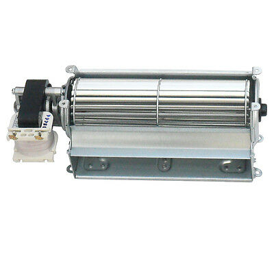 Gas Stove Blower - Universal Blower (Motor at left) only for Wood / Gas Burning Stove or Fireplace