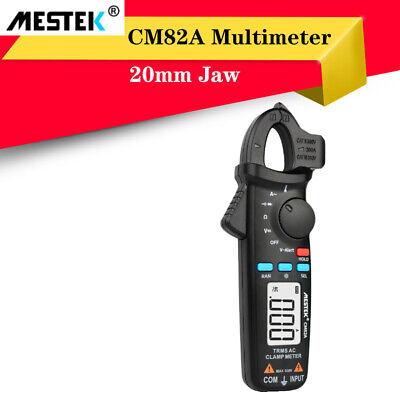 Mestek True Rms Digital Clamp Meter Voltage Ampere Ohm Tester Ammeter Multimeter