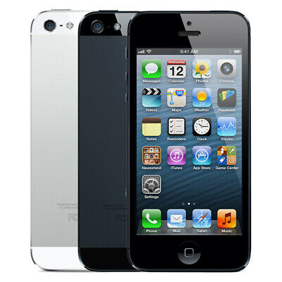 Apple iPhone 5 16GB 32GB 64GB Smartphone Unlocked and Network Locked